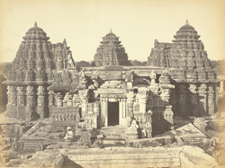 Temple at Somnath-pur 51242